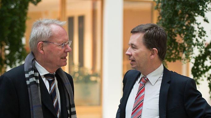 Zusammen mit Bernd Lucke hat Hans-Olaf Henkel (l.) die Partei Alfa gegründet.