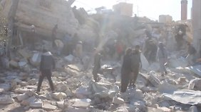 Angriff auf Krankenhaus in Idlib: Kämpfe in Syrien gehen trotz Waffenruhe weiter