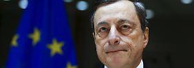 Werden ohne Zögern handeln: Draghi hält die Flinte im Anschlag