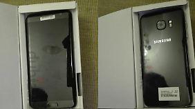 Der dubiose Verkäufer bietet das Galaxy S7 in beiden Varianten an.