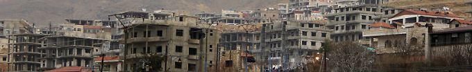 Der Tag: 19:13 Assad-Truppen kontrollieren wieder fast ganz Damaskus