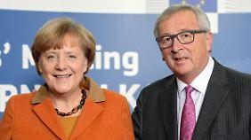Österreich sichert seine Südgrenze: Juncker: Geschichte wird Merkel recht geben