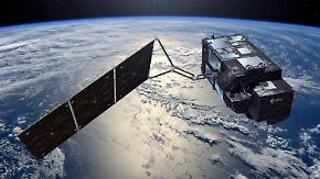 """Erforschung des Klimawandels: Satellit """"Sentinel-3A"""" misst die Meeres-Temperatur"""