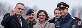 Slowenien aktiviert das Militär: Österreich: Nur noch 80 Asylanträge pro Tag