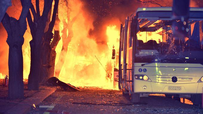 Bei dem Anschlag in Ankara starben 28 Menschen - 81 weitere wurden verletzt.