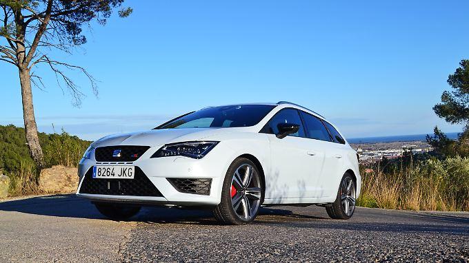 Geschärft wird der Seat Leon Cupra auf Wunsch durch das Performance Paket.