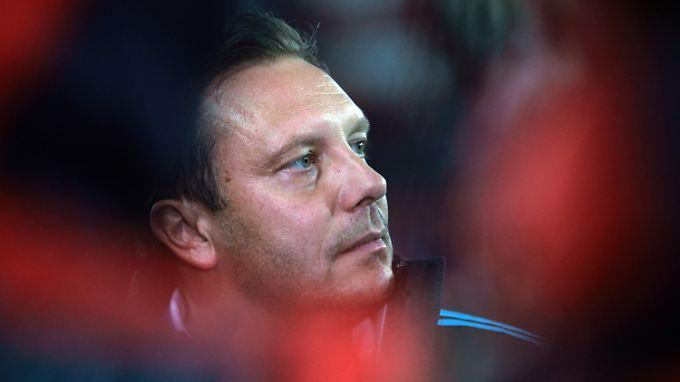 Irgendwie Königsklasse: Schalkes Trainer André Breitenreiter.