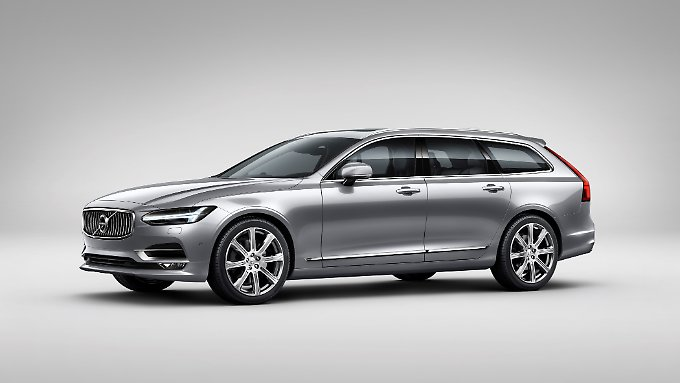 Wie der neue Kombi bei Volvo aussieht verraten die Schweden schon. Über Details wird geschwiegen.
