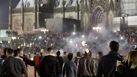 Die Silvester-Nacht in Köln.