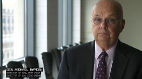 Gibney hat hochrangige Militärs wie Michael Hayden interviewt, Ex-Chef von NSA und CIA.