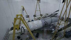 """Richard Branson gibt nicht auf: """"SpaceShipTwo"""" steht kurz vor der Enthüllung"""