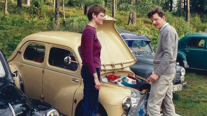 Die Besitzer: Marianne und Anker Krarup am Beginn ihrer Sammlung.