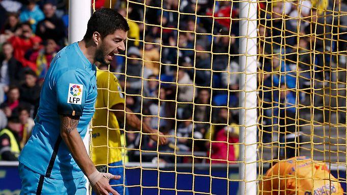 Zum 25. Mal in dieser Saison erfolgreich: Luis Suarez.