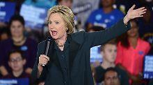 Konnte das Rennen gegen Sanders knapp für sich entscheiden: Hillary Clinton