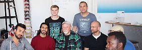 Unterkunft für Homosexuelle: Berlin eröffnet buntes Flüchtlingsheim