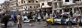 Explosionen in Syrien: Doppelanschlag in Homs fordert viele Opfer
