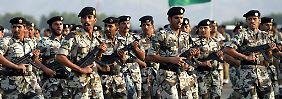 Saudis kaufen 275 Prozent mehr: Rüstungshandel legt weltweit zu