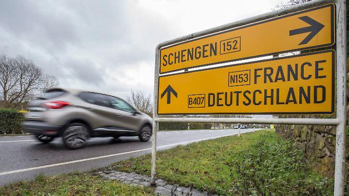Das Ende von Schengen wäre das Ende der freien Fahrt.