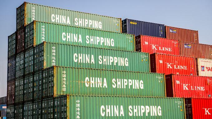 China erklimmt den ersten Platz.