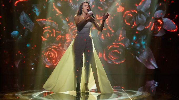 Wird sie mit ihrem Song wirklich zum ESC fahren? Sängerin Jamala.