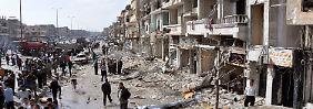 Städte wie Homs oder Aleppo liegen in Schutt und Asche.