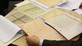 Diese Dokumente sollen die Spitzel-Tätigkeit von Lech Walesa belegen.