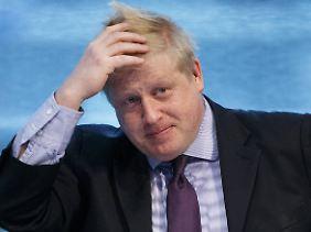 """Droht Europa nun die """"blonde Bombe""""? Boris Johnson stellt sich gerne als Exzentriker dar."""
