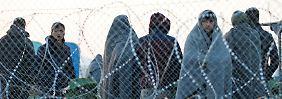 Grenzschließung in Mazedonien: Balkanroute wird für Flüchtlinge zur Sackgasse
