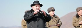 """""""Werden in Bereitschaft gehen"""": Nordkorea droht mit Militärschlägen"""