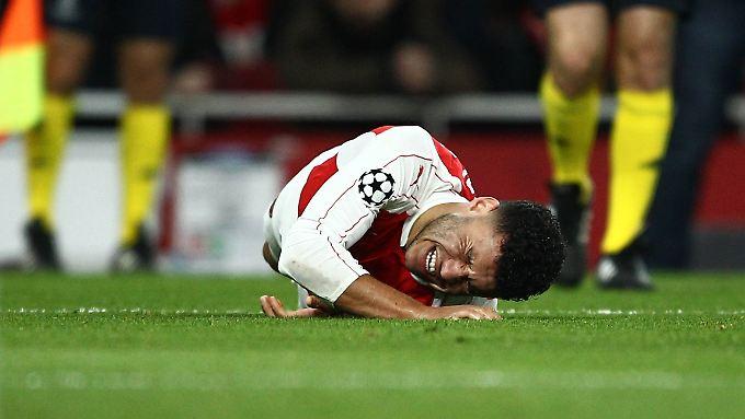 Dem FC-Arsenal droht das sechste Achtelfinal-Aus in Serie in der Championsleague.