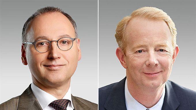 Neue Ära bei Bayer: Werner Baumann (links) kommt für Marijn Dekkers.