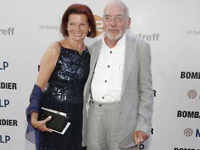 In dritter Ehe war Lustig mit Astrid Berge verheiratet (Bild von 2008).