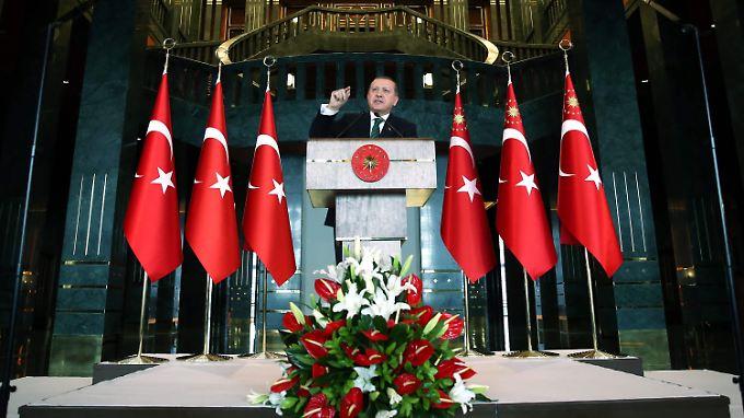 Die Türkei sieht in den syrischen Kurden eine Terrororganisation.