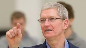 Streit zwischen Apple und FBI: Tim Cook vergleicht iPhone-Entsperrung mit Krebs