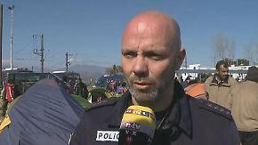 """Polizist berichtet vom Frontex-Einsatz: """"Die größte Herausforderung ist für mich der Umgang mit Kindern"""""""