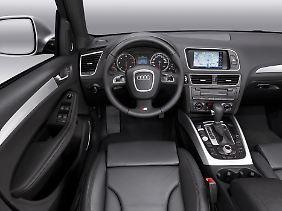 Die Verarbeitungsqualität und Materialauswahl beim Audi Q5 ist hochwertig.