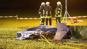 Zwei Tote bei Bimöhlen: Hubschrauber der Bundespolizei stürzt ab