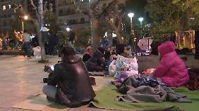 Kein Durchkommen auf der Balkanroute: Flüchtlinge stranden mitten in Athen