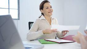 Auf viele Themen des Bewerbungsgesprächs kann man sich vorbereiten.
