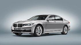 BMW zeigt mit dem Plug-in-Hybrid einen weitere Spielart seines 7er.