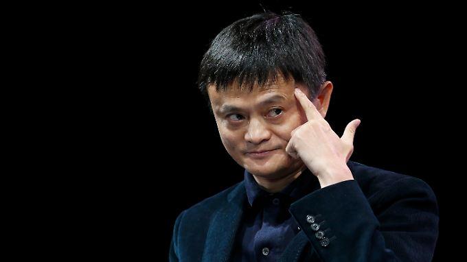 Der chinesische Internet-Milliardär Jack Ma.