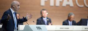 Infantino verhindert den Scheich: Der Geldbeschaffer soll die Fifa retten