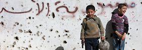Eingeschränkte Feuerpause in Syrien: Bürgerkriegsparteien geben sich keinen Illusionen hin