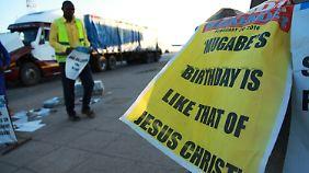 Simbabwes Staatszeitung verweist auf die Bedeutsamkeit des Geburtstags von Präsident Robert Mugabe.
