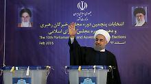 Präsident Rohani bestärkt: Irans Hardliner werden abgestraft