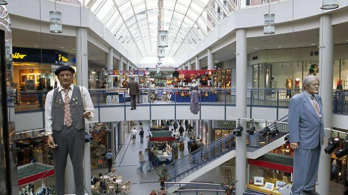 """Im Einkaufszentrum """"Sophienhof"""" sollen drei Mädchen belästigt worden sein."""