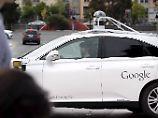 Der Lexus RX450h gehört zur neuesten Generation selbstfahrender Google-Autos.