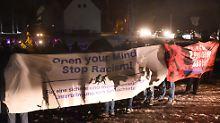 Schon eher das Volk: Friedlicher Protest gegen Rassismus in Clausnitz