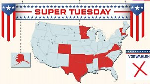Themenseite: Super Tuesday