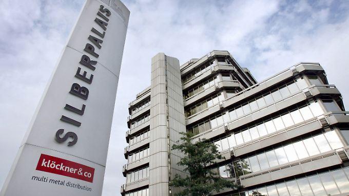 Zentrale von Klöckner & Co in Duisburg.